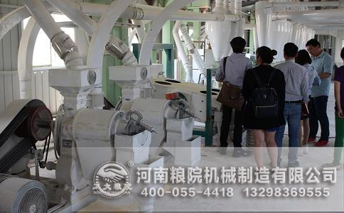 石磨面粉机生产能力与计划安排