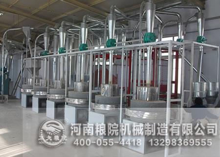进料传感器在全自动石磨面粉设备中的应用